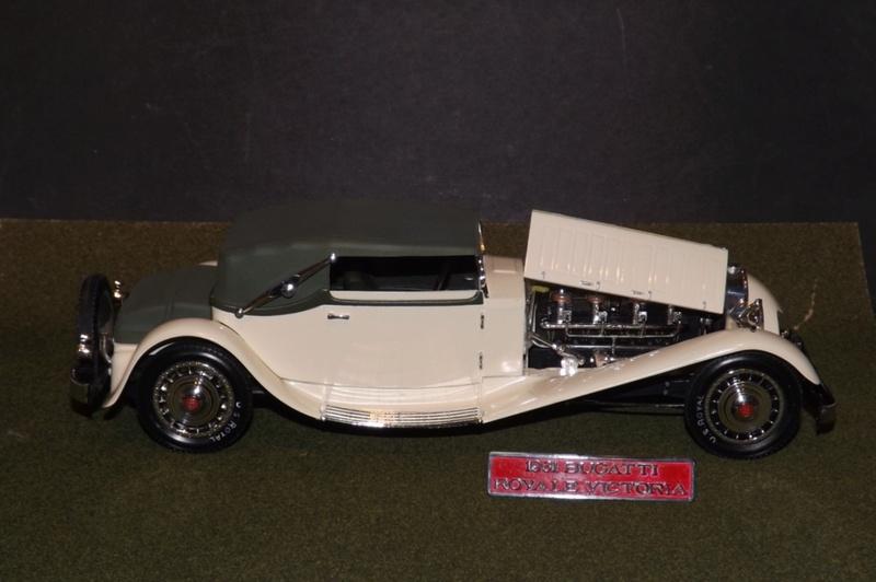 Bugatti Royal Victoria 1931 de Revell 1/24  Dscf6930