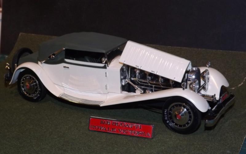 Bugatti Royal Victoria 1931 de Revell 1/24  Dscf6932