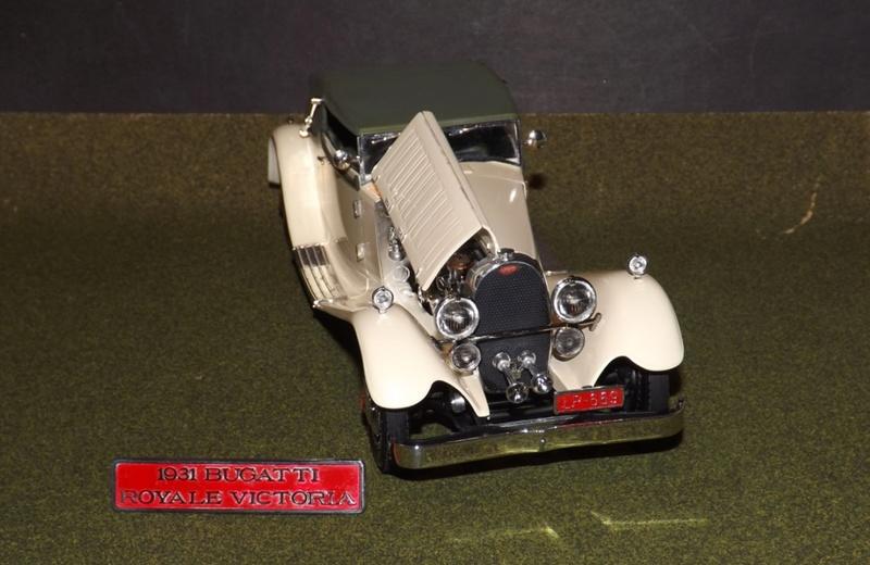 Bugatti Royal Victoria 1931 de Revell 1/24  Dscf6933