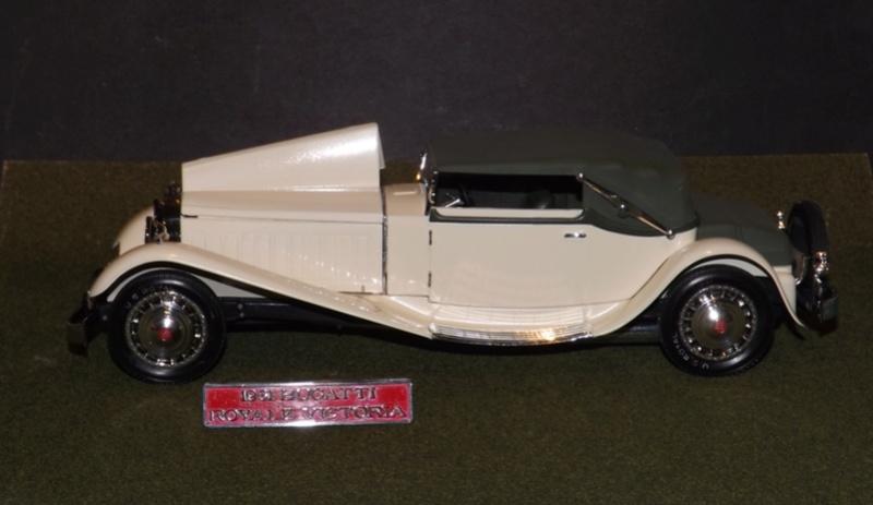 Bugatti Royal Victoria 1931 de Revell 1/24  Dscf6937