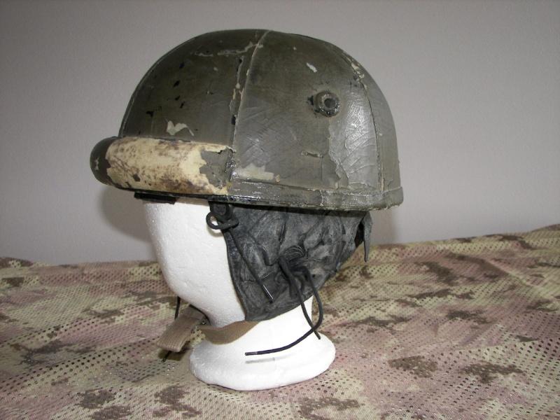 WWII Tankers Helmets 100_8412