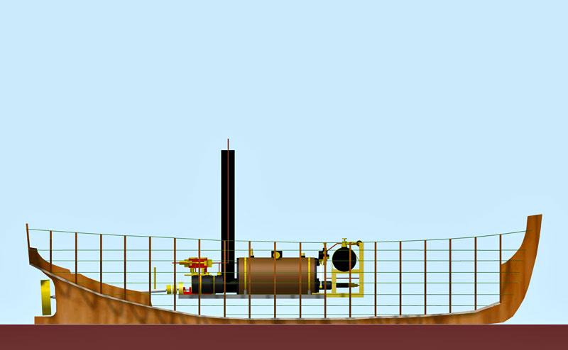 TECHNIQUE de CONSTRUCTION d'une CHALOUPE à CLINS par ROOKIE78 Projet10