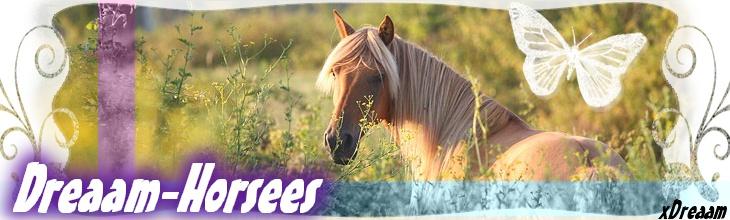 « Dreaam-Horsees. ♪ »