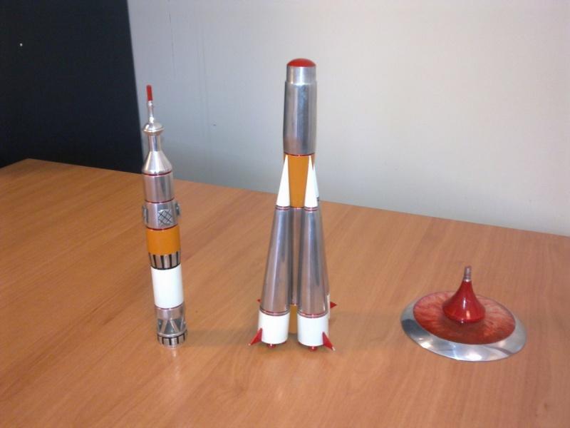 Modèle réduit Soyuz TMA [Aluminium 30 cm] Photo014