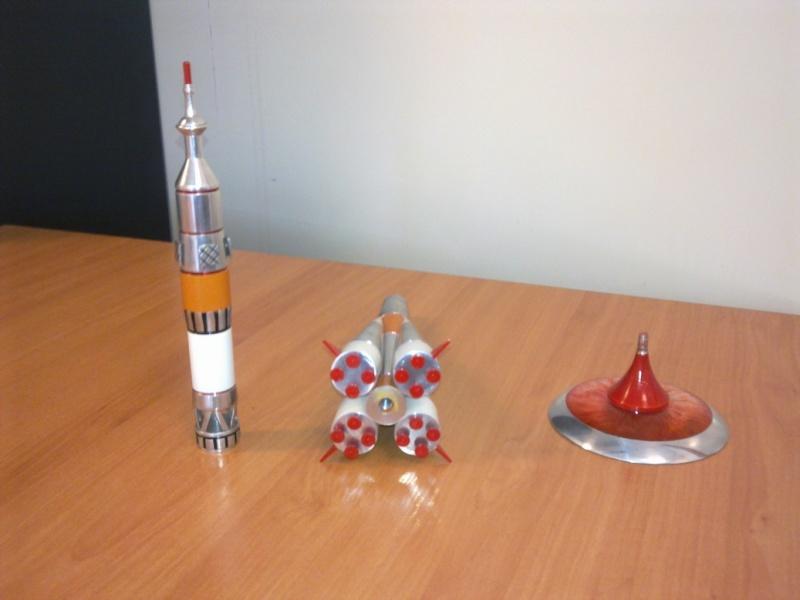 Modèle réduit Soyuz TMA [Aluminium 30 cm] Photo015