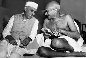 Mahatma Gandhi Nehru_10