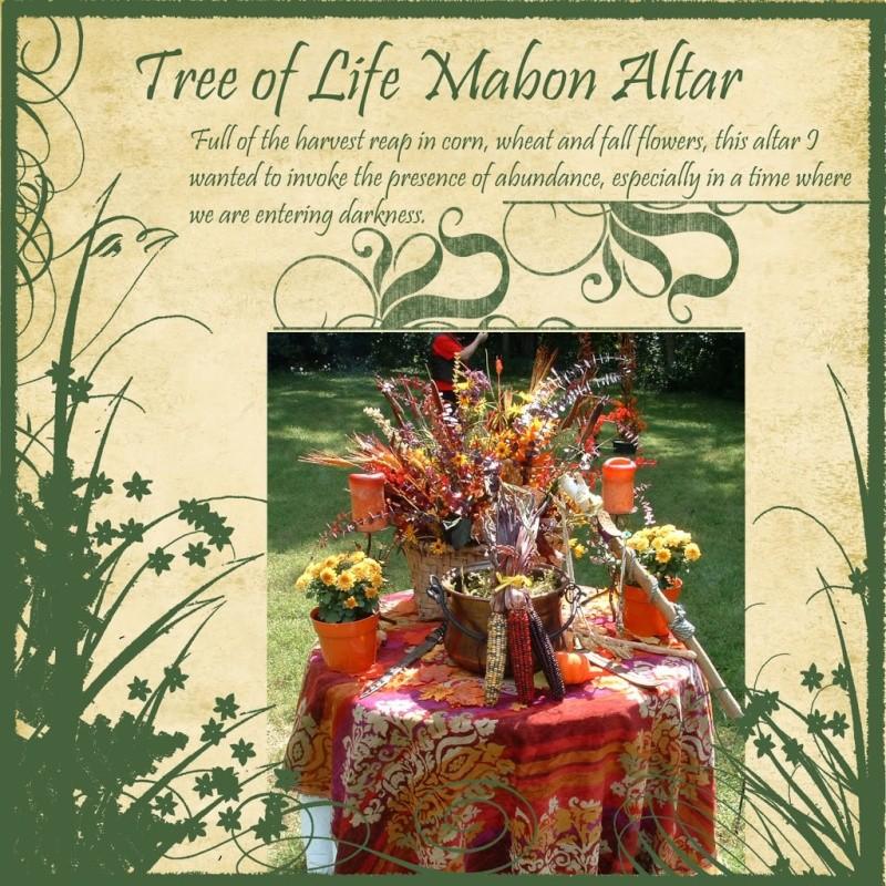 Mabon Altars Mabona12