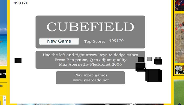 Jeux cubefield Cubefi10