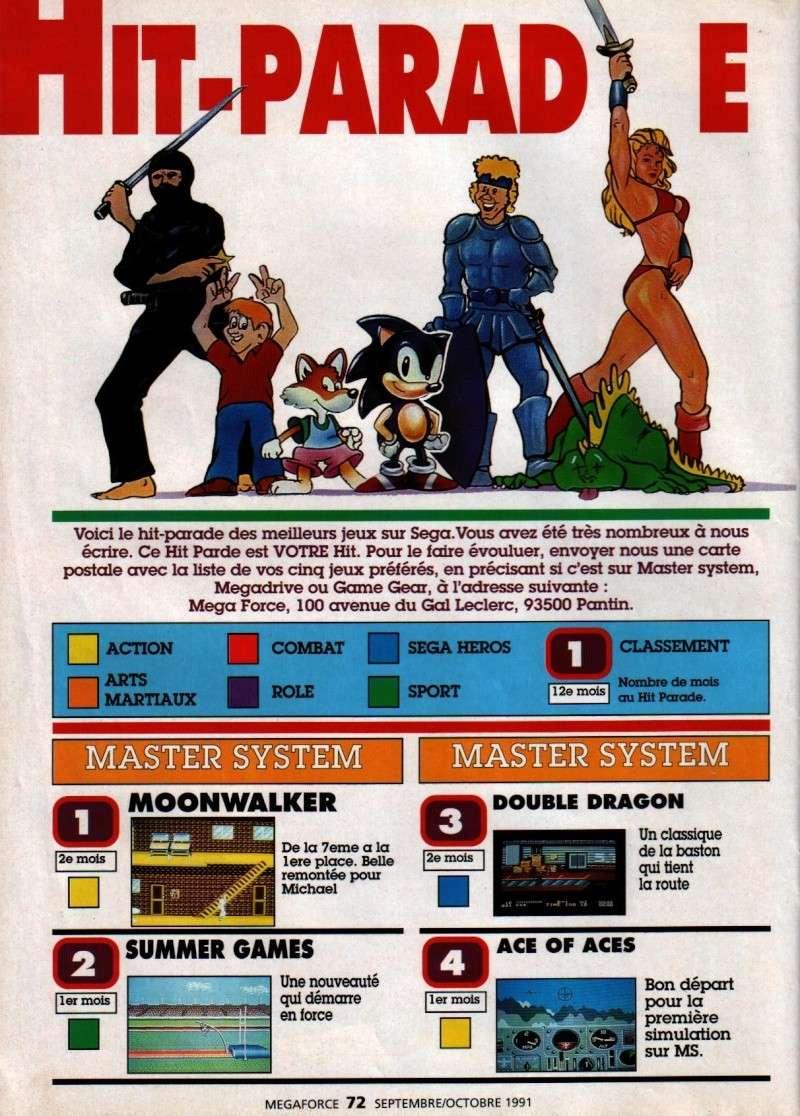 Classement jeux 1992 Megaforce ! + bonus  07210