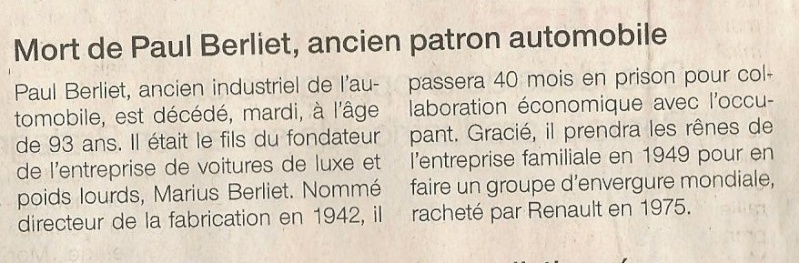 RESTAURATION D' UN BERLIET SAHARIEN - Page 3 C10