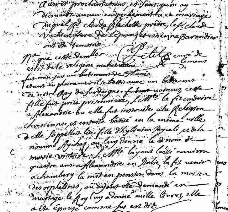 [curiosité] - Actes originaux qui changent de l'ordinaire (suite 4) Marie_12
