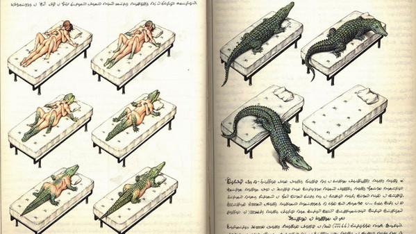 Codex Seraphinianus by Luigi Serafini Alcune10