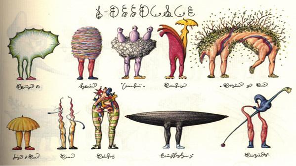 Codex Seraphinianus by Luigi Serafini Alcune11