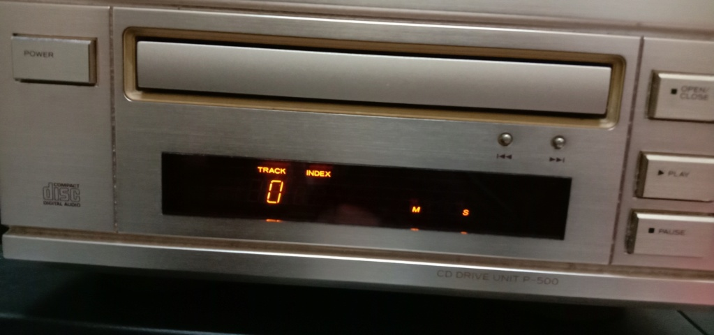 Sold, Esoteric p-500 cd drive unit Img_2018