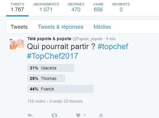TOP CHEF 2017 ... SAISON VIII ... SEMAINE III ... LE CHOC DES BRIGADES ...  - Page 4 Captur13