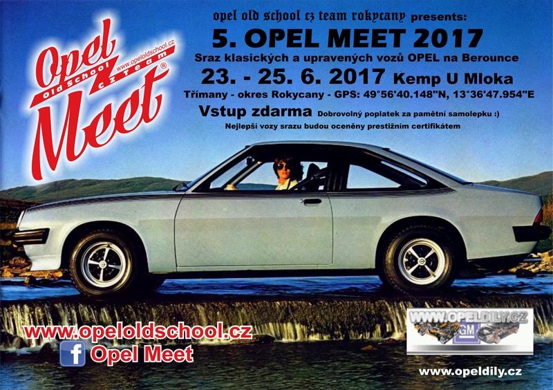 5. OPEL MEET 23. - 25. 6. 2017 - Kemp U Mloka - Třímany Gps_4910