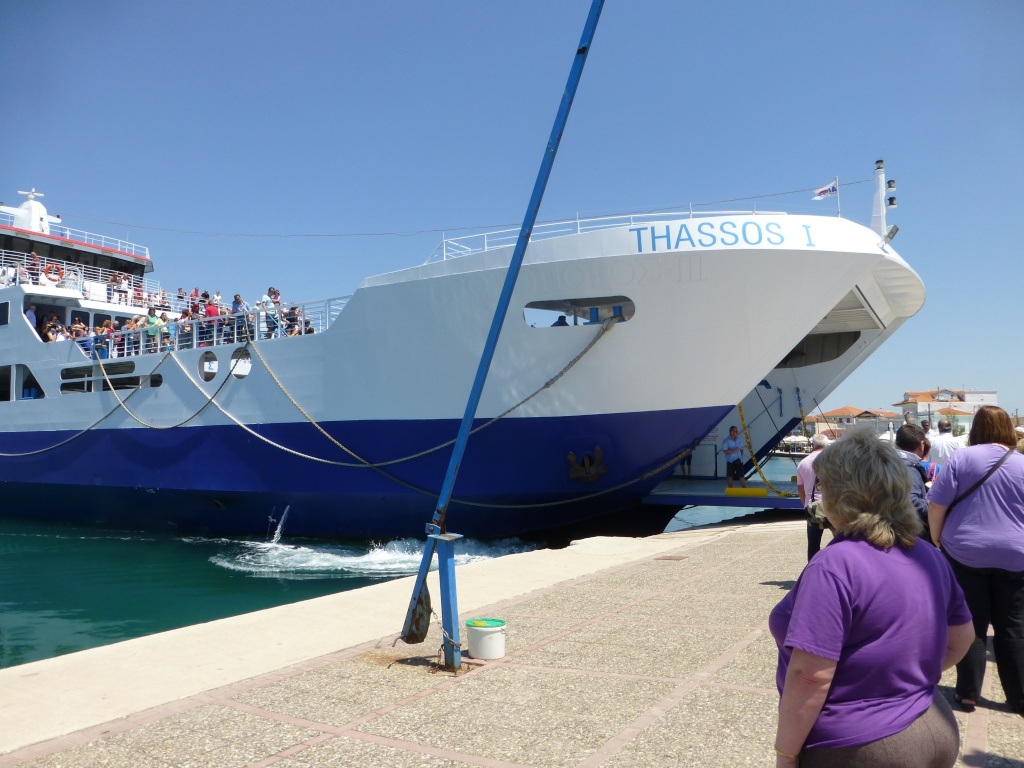 Greece, Island of Thassos, Golden Bay, 2013 01210