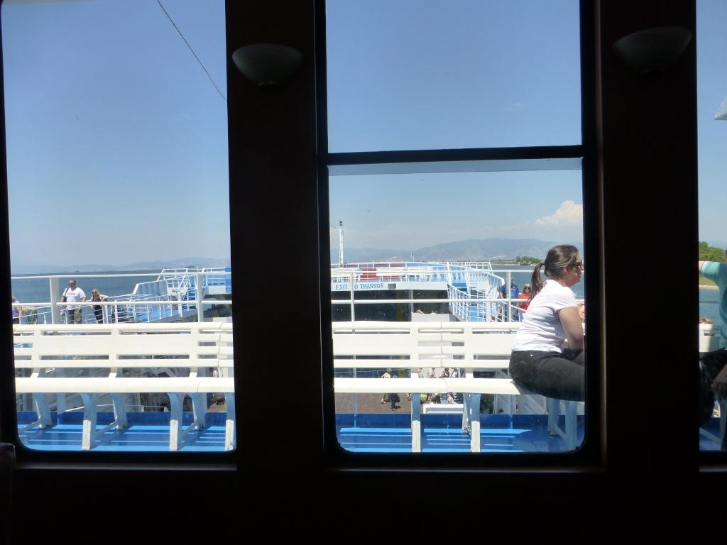 Greece, Island of Thassos, Golden Bay, 2013 01510