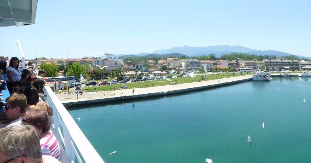 Greece, Island of Thassos, Golden Bay, 2013 01810
