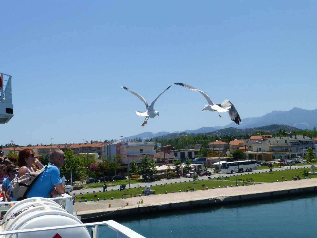 Greece, Island of Thassos, Golden Bay, 2013 02510