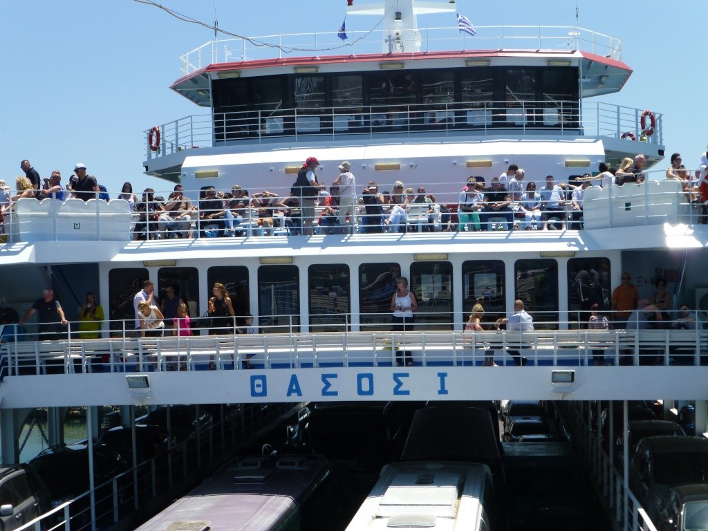 Greece, Island of Thassos, Golden Bay, 2013 02710
