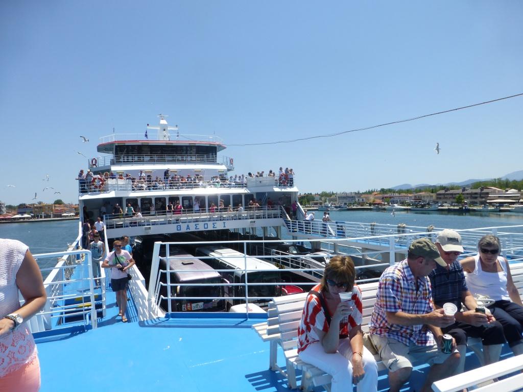 Greece, Island of Thassos, Golden Bay, 2013 03110