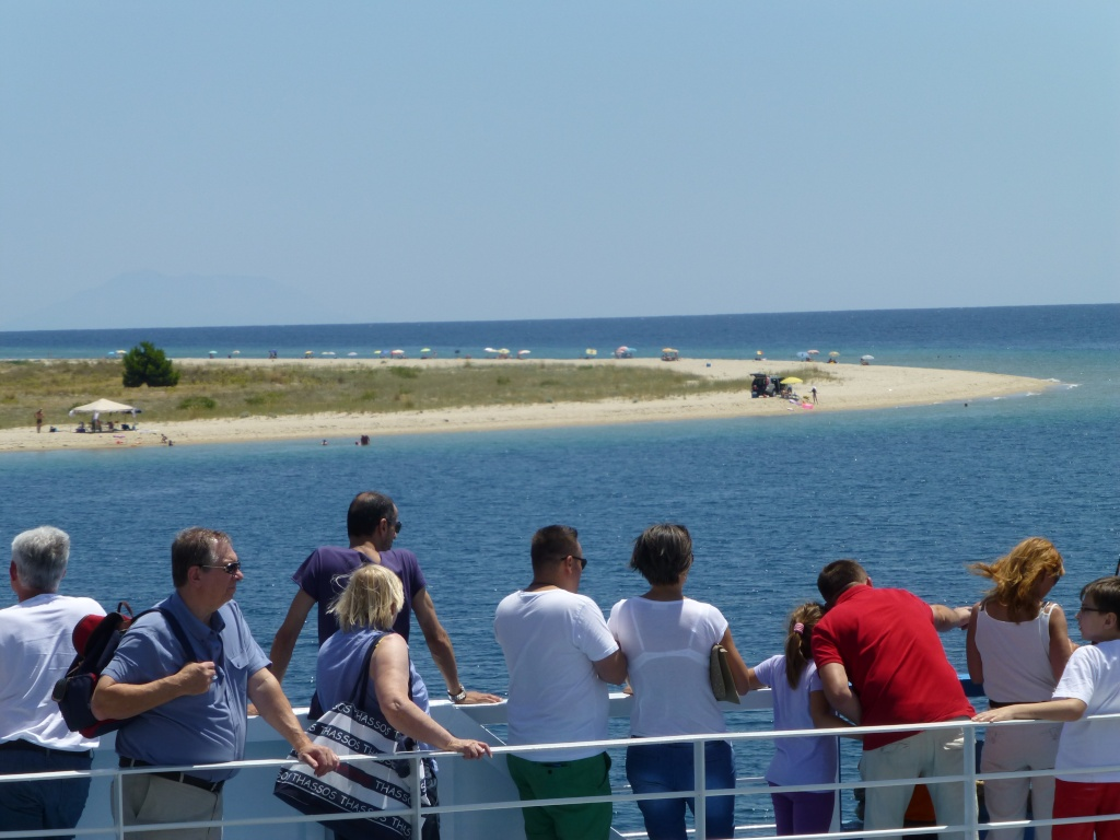 Greece, Island of Thassos, Golden Bay, 2013 03510