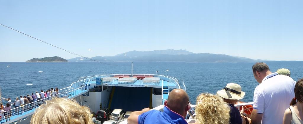 Greece, Island of Thassos, Golden Bay, 2013 03810