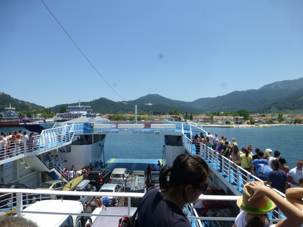 Greece, Island of Thassos, Golden Bay, 2013 03910