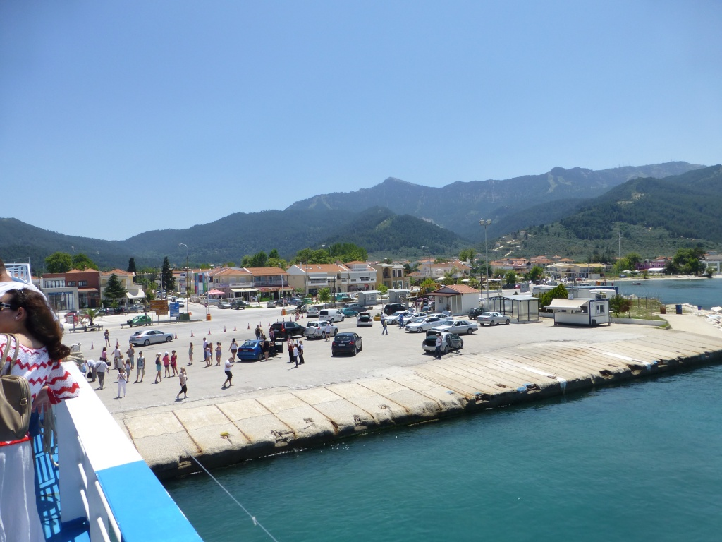 Greece, Island of Thassos, Golden Bay, 2013 04110