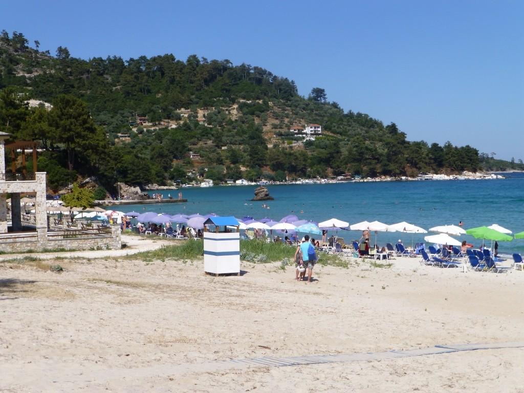 Greece, Island of Thassos, Golden Bay, 2013 06110