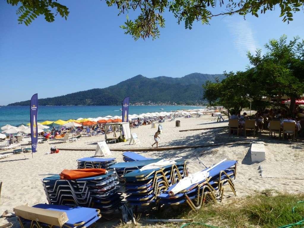 Greece, Island of Thassos, Golden Bay, 2013 06410