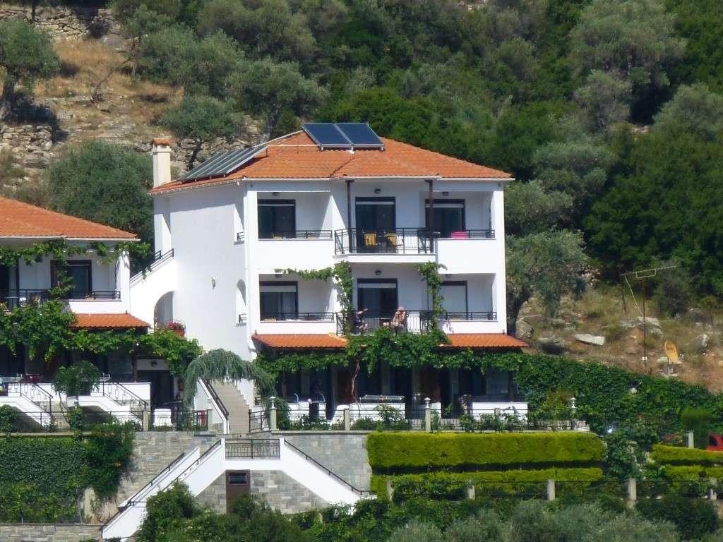 Greece, Island of Thassos, Golden Bay, 2013 06710