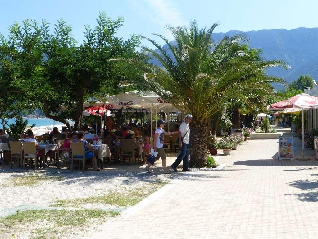Greece, Island of Thassos, Golden Bay, 2013 06810