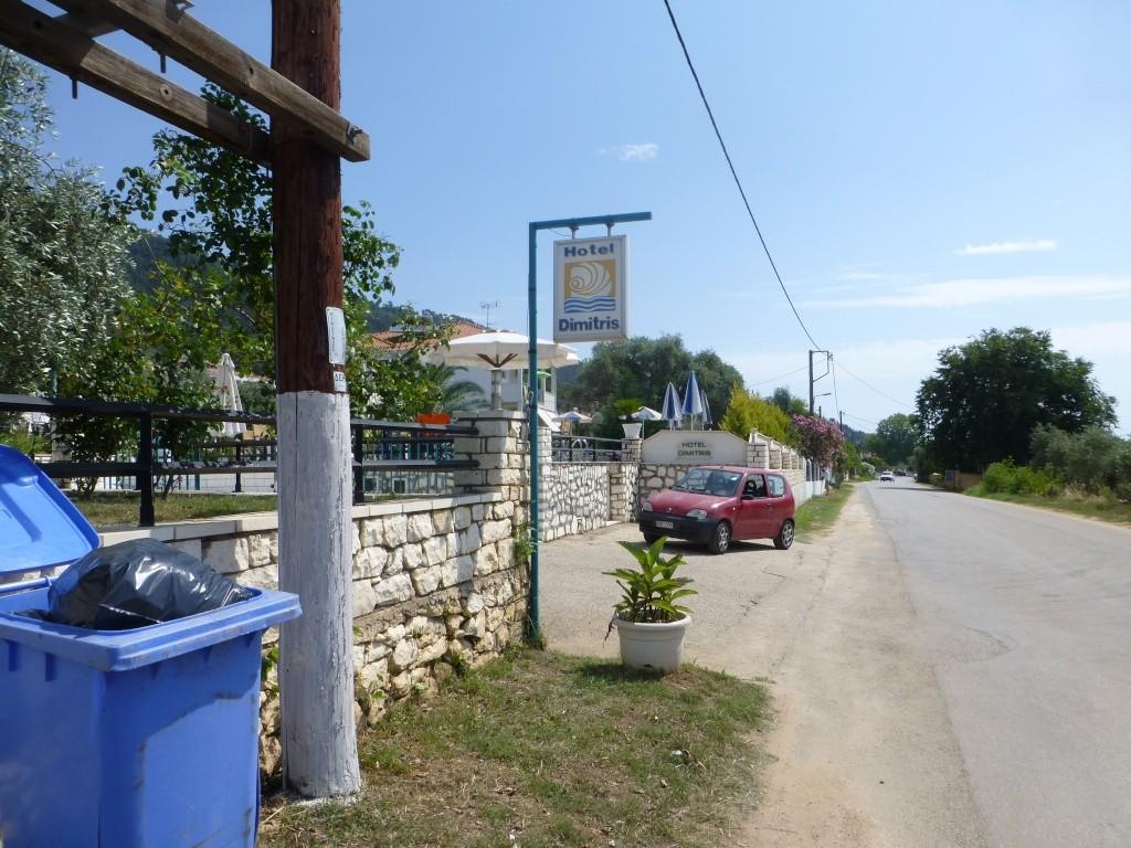 Greece, Island of Thassos, Golden Bay, 2013 09610