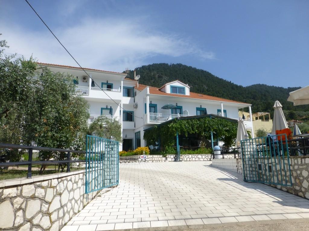Greece, Island of Thassos, Golden Bay, 2013 09710