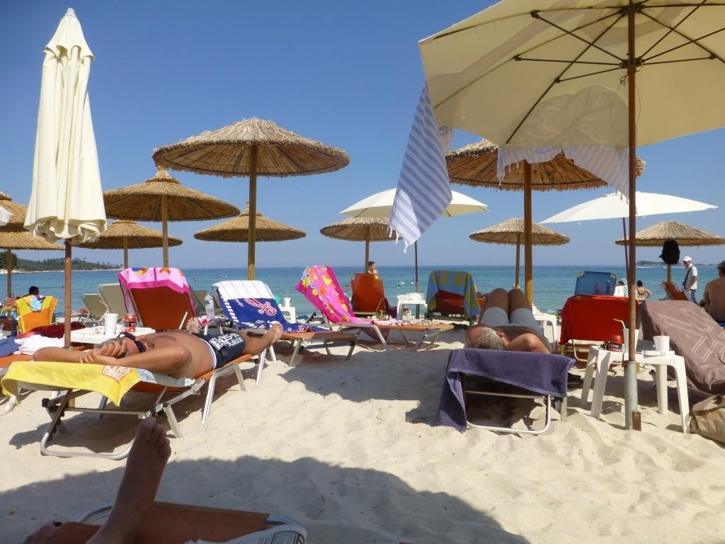 Greece, Island of Thassos, Golden Bay, 2013 100710