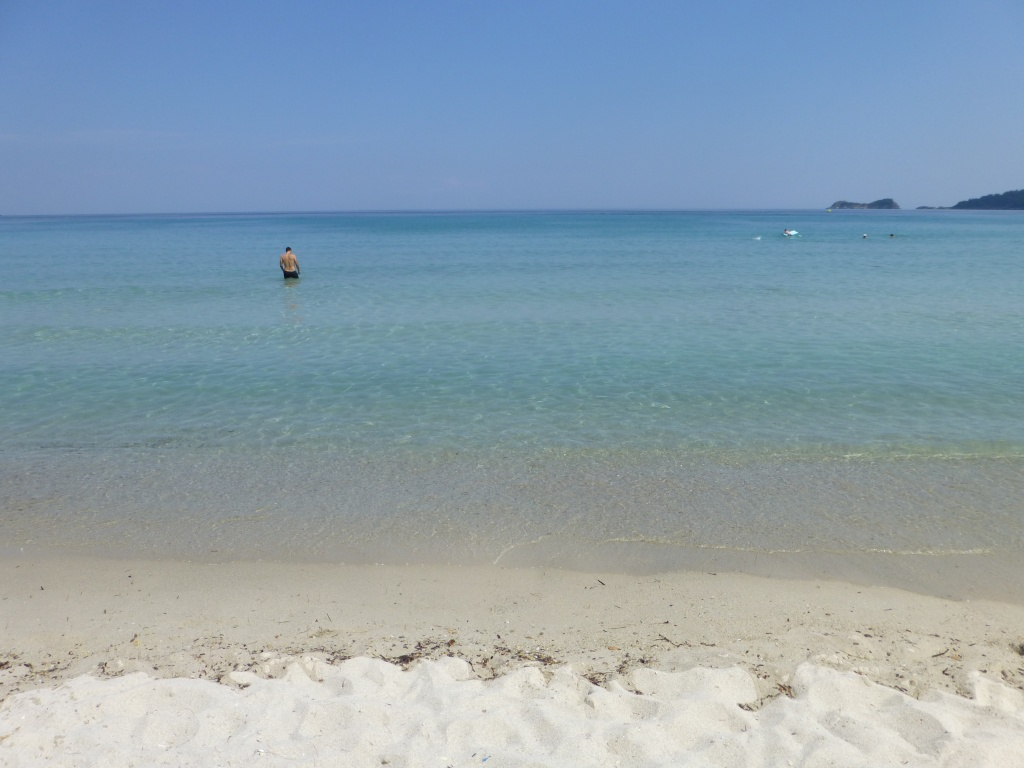 Greece, Island of Thassos, Golden Bay, 2013 104710