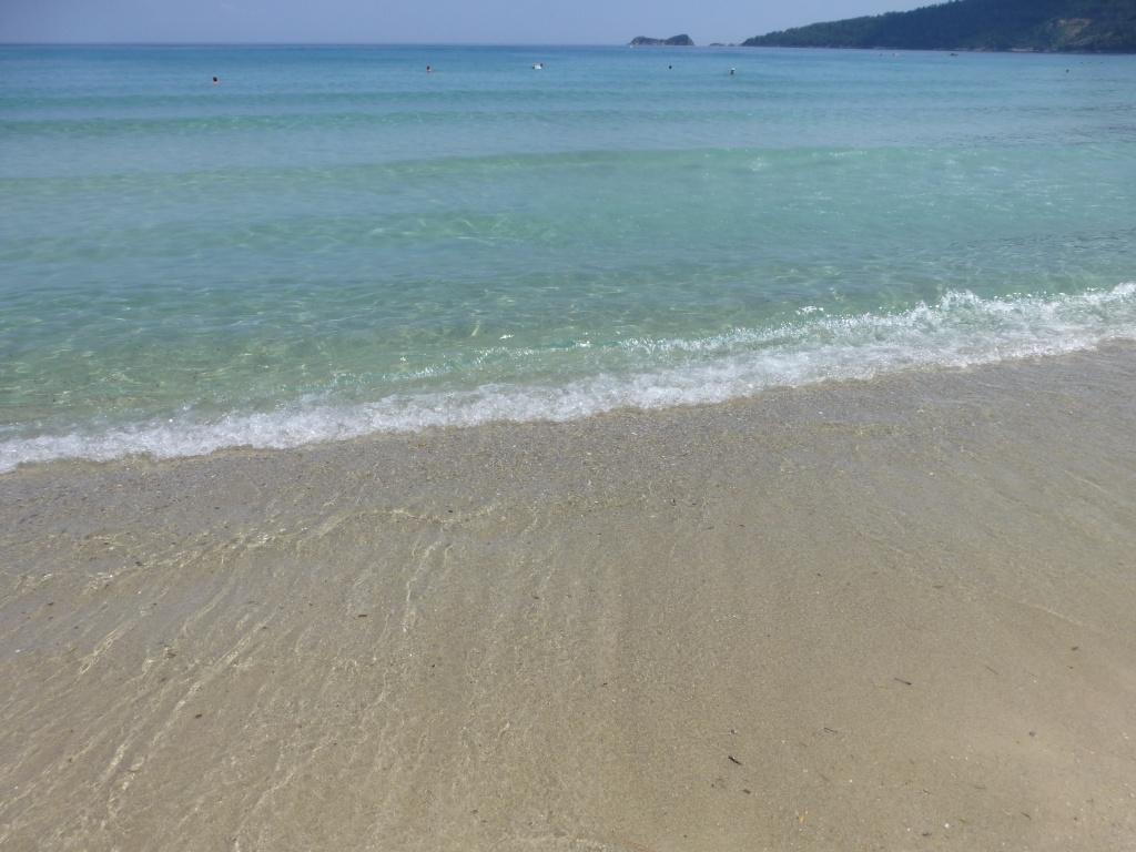 Greece, Island of Thassos, Golden Bay, 2013 105010