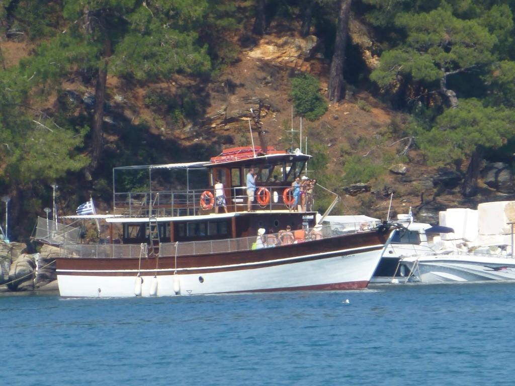 Greece, Island of Thassos, Golden Bay, 2013 105110