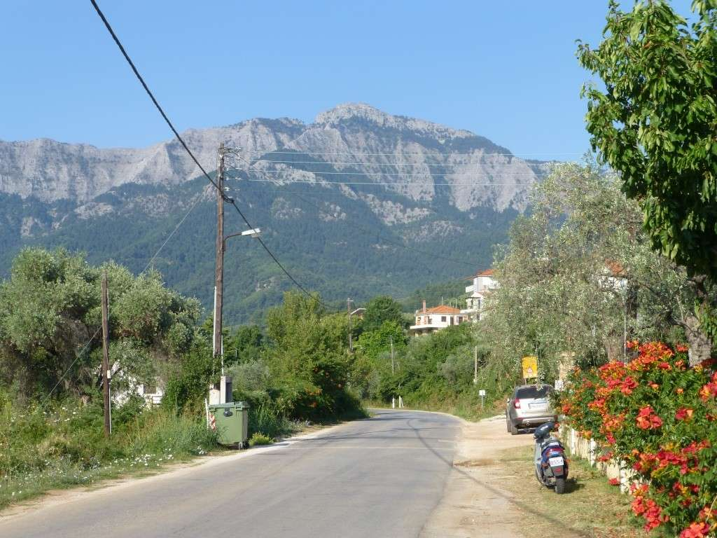 Greece, the Island of Thassos, The Ipsarion Mountain climb by 4x4 113610