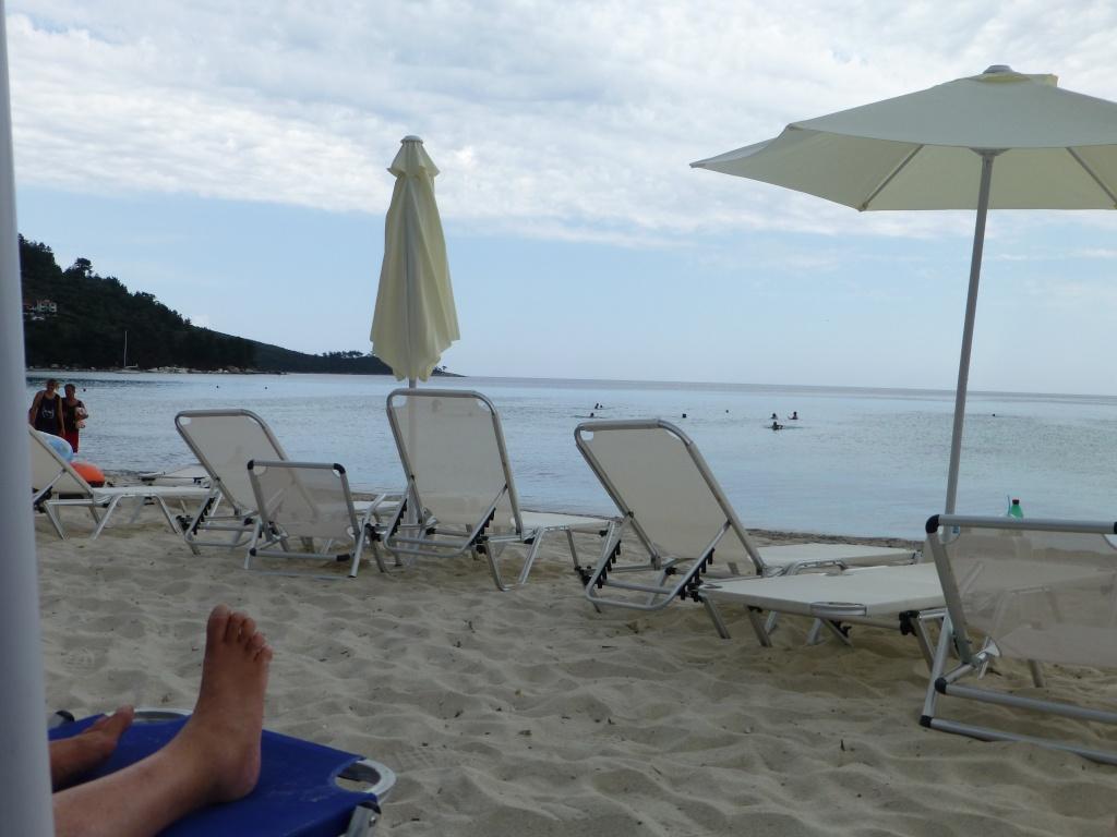 Greece, Island of Thassos, Golden Bay, 2013 15210