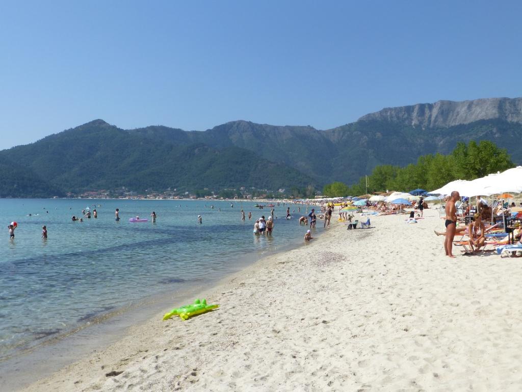 Greece, Island of Thassos, Golden Bay, 2013 19310