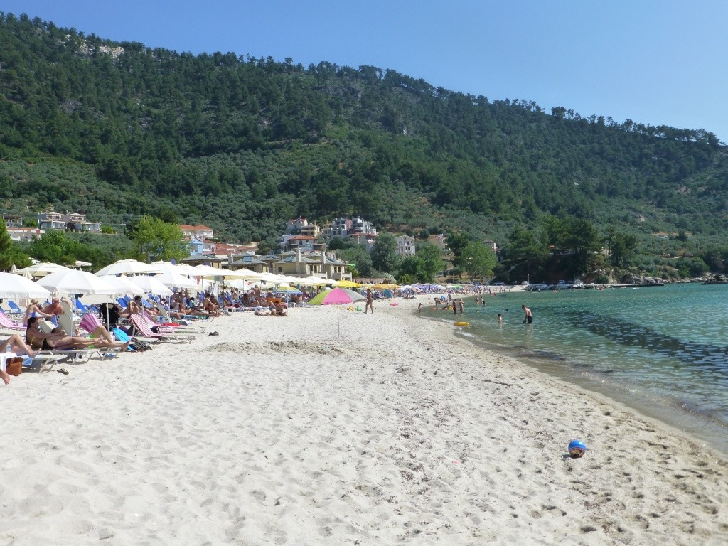 Greece, Island of Thassos, Golden Bay, 2013 19410