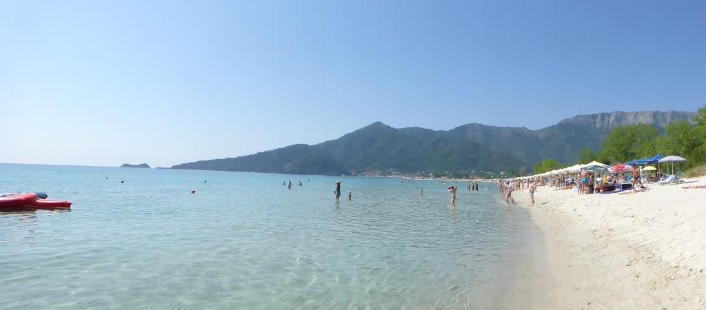 Greece, Island of Thassos, Golden Bay, 2013 20110