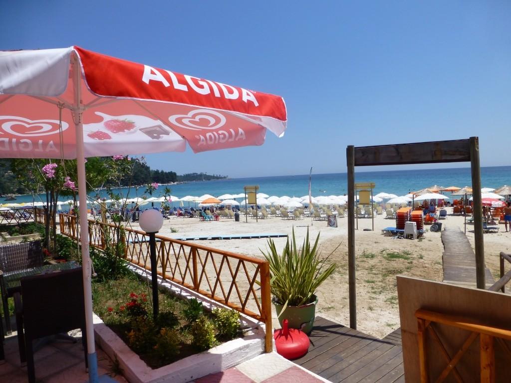 Greece, Island of Thassos, Golden Bay, 2013 20510