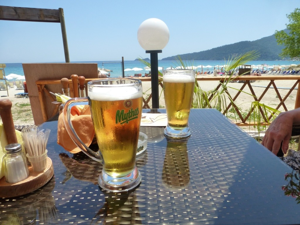 Greece, Island of Thassos, Golden Bay, 2013 20910