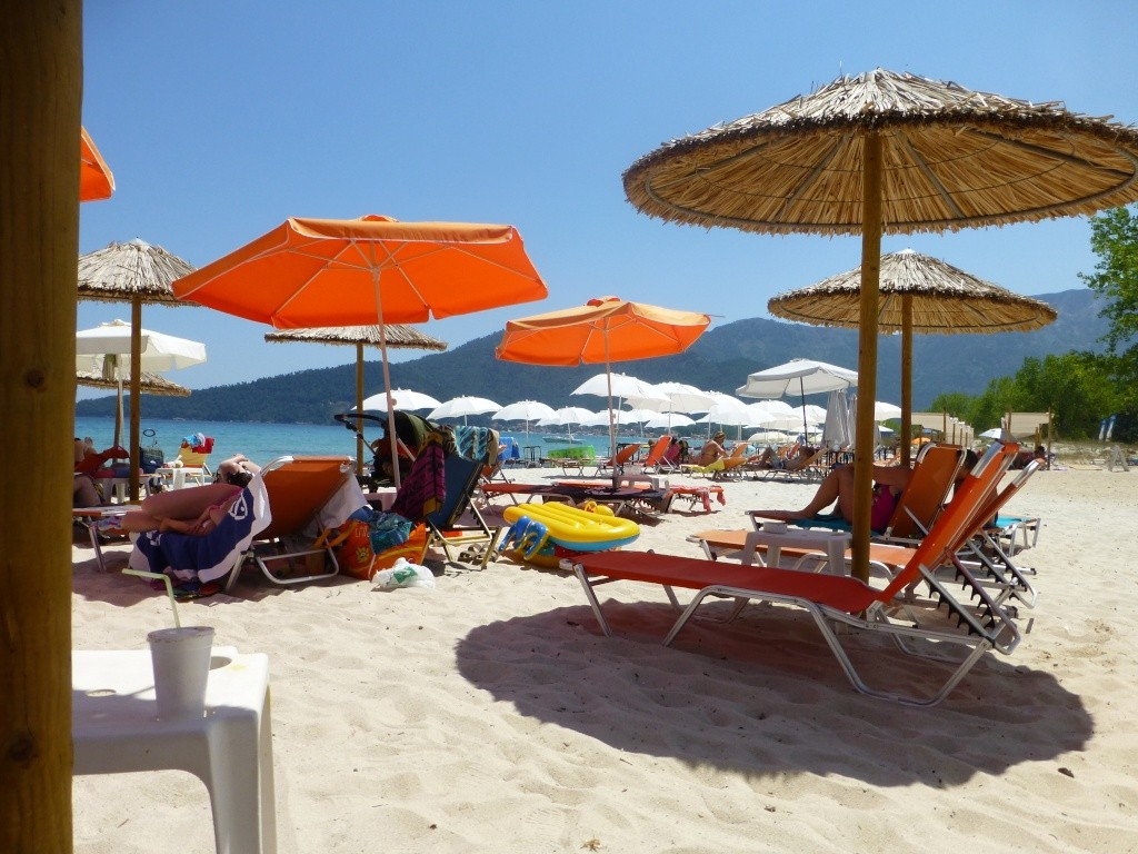Greece, Island of Thassos, Golden Bay, 2013 21310
