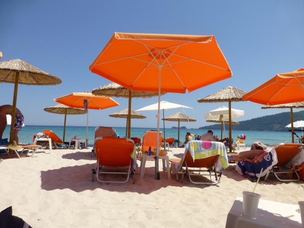 Greece, Island of Thassos, Golden Bay, 2013 21410