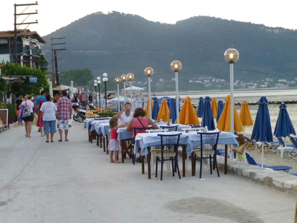 Greece, Island of Thassos, Golden Bay, 2013 23210